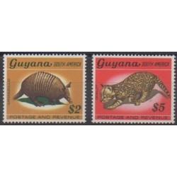 Guyana - 1968 - Nb 295/296 - Mamals