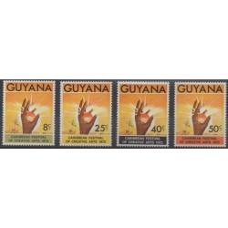 Guyana - 1972 - Nb 398/401 - Art