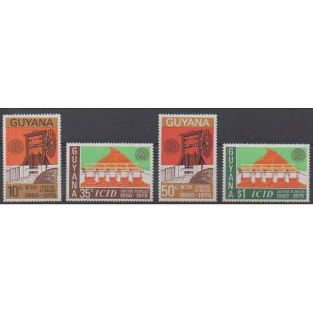 Guyana - 1975 - Nb 458/461