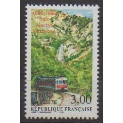 France - Poste - 1996 - Nb 3017 - Trains