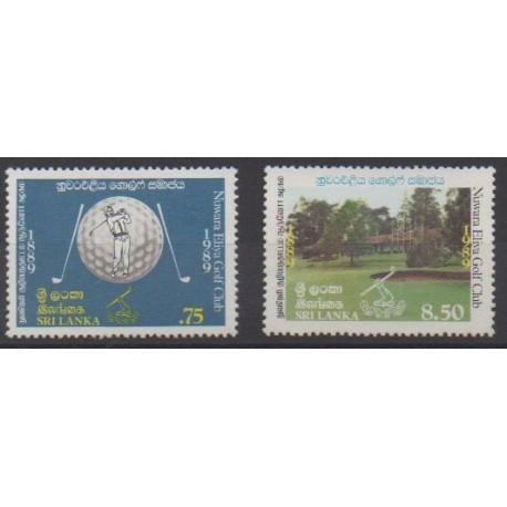 Sri Lanka - 1989 - Nb 890/891 - Various sports