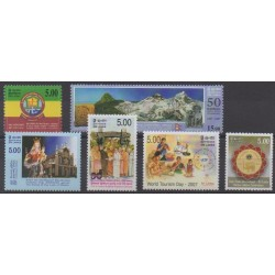 Sri Lanka - 2007 - Nb 1594/1599