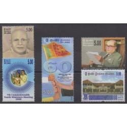 Sri Lanka - 2008 - Nb 1638/1642