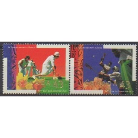 Canada - 1994 - Nb 1365/1366 - Various sports