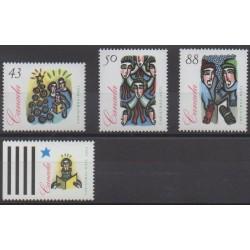 Canada - 1994 - Nb 1394/1397 - Christmas