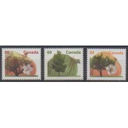 Canada - 1994 - No 1356/1358 - Arbres