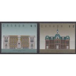 Canada - 1994 - Nb 1354/1355 - Architecture