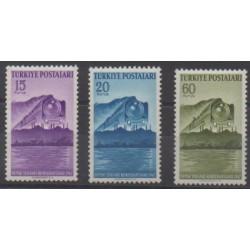 Turquie - 1947 - No 1057/1059 - Chemins de fer