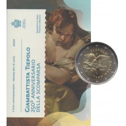 2 euro commémorative - San Marino - 2020 - 250th anniversary of the death of Giambattista Tiepolo - BU