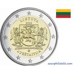 2 euro commémorative - Lituanie - 2020 - Aukštaitija