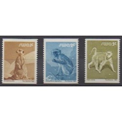 South-West Africa - 1980 - Nb 450/451 - Mamals
