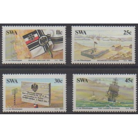 South-West Africa - 1984 - Nb 515/518 - Various Historics Themes