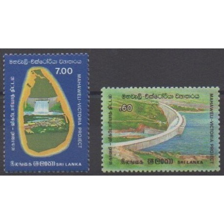 Sri Lanka - 1985 - Nb 709/710 - Science
