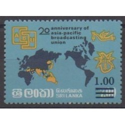 Sri Lanka - 1986 - Nb 743 - Various Historics Themes