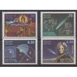 Sri Lanka - 1986 - Nb 746/749 - Astronomy