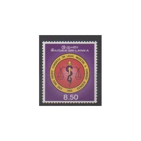 Sri Lanka - 1986 - Nb 722 - Health