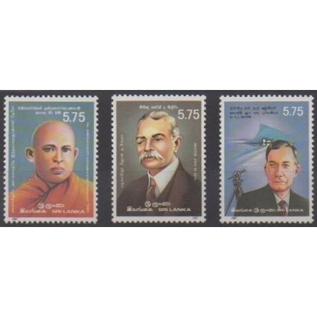 Sri Lanka - 1987 - Nb 786/787 et 789