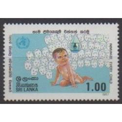 Sri Lanka - 1987 - Nb 796 - Childhood