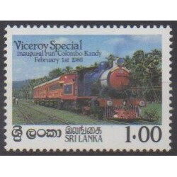 Sri Lanka - 1986 - Nb 744 - Trains