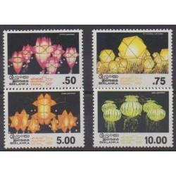 Sri Lanka - 1987 - Nb 801/804 - Folklore