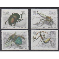 Sud-Ouest africain - 1987 - No 562/565 - Insectes