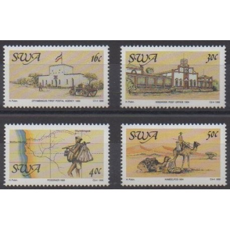 South-West Africa - 1988 - Nb 582/585 - Postal Service