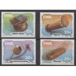 Sud-Ouest africain - 1985 - No 536/539 - Musique