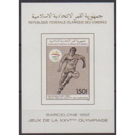 Comoros - 1989 - BF du 500ND - Summer Olympics