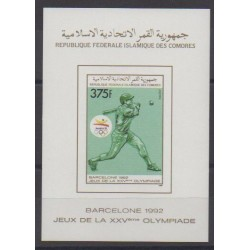 Comoros - 1989 - BF du 502ND - Summer Olympics