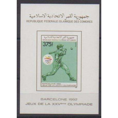 Comoros - 1989 - BF du 502ND - Summer Olympics