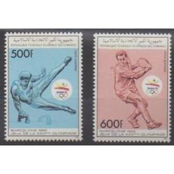 Comoros - 1989 - Nb PA275/PA276 - Summer Olympics