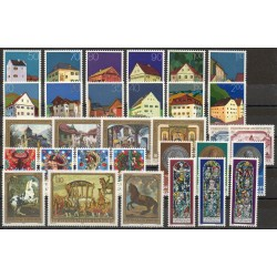 Liechtenstein - Année complète - 1978 - No 633/663