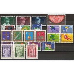 Liechtenstein - Année complète - 1975 - No 563/584