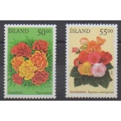 Iceland - 2004 - Nb 979/980 - Roses