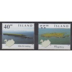 Iceland - 2001 - Nb 921/922 - Sights
