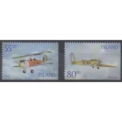 Iceland - 2001 - Nb 913A/913B - Planes