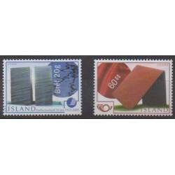 Iceland - 2002 - Nb 935/936 - Art