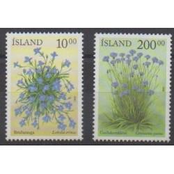 Iceland - 2002 - Nb 945/946 - Flowers