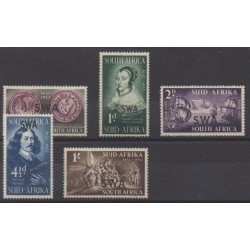 South-West Africa - 1952 - Nb 227/231 - Various Historics Themes