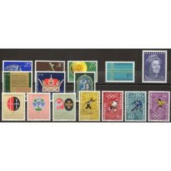 Liechtenstein - Complete year - 1971 - Nb 484/498