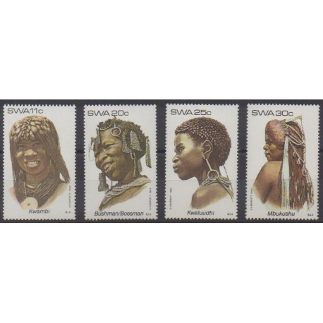 South-West Africa - 1984 - Nb 511/514