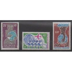 Polynesia - 1970 - Nb 77/79