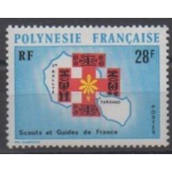 Polynésie - 1971 - No 91 - Scoutisme