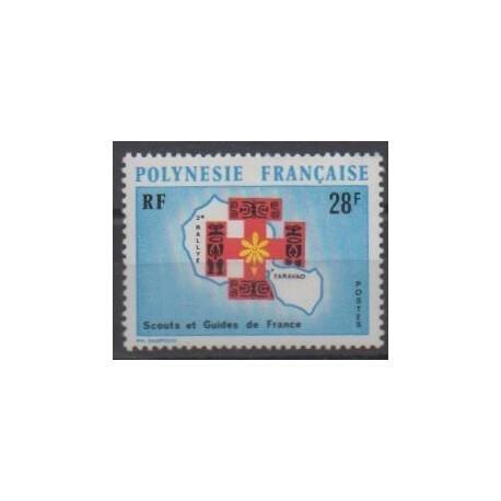 Polynesia - 1971 - Nb 91 - Scouts