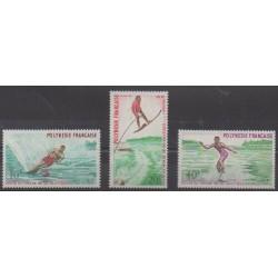 Polynésie - 1971 - No 86/88 - Sports divers