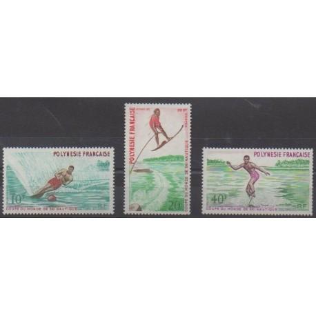 Polynesia - 1971 - Nb 86/88 - Various sports