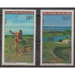 Polynésie - 1974 - No 94/95 - Sports divers