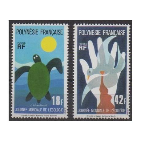 Polynesia - 1976 - Nb 108/109 - Environment