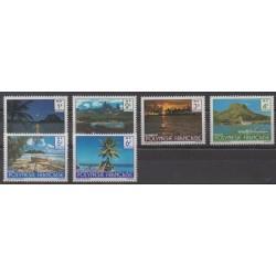 Polynésie - 1979 - No 132/137 - Sites - Tourisme