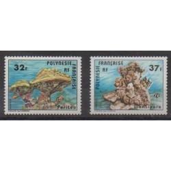 Polynésie - 1979 - No 130/131 - Vie marine